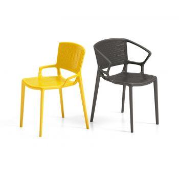 Fiorellina, silla de exterior moderna