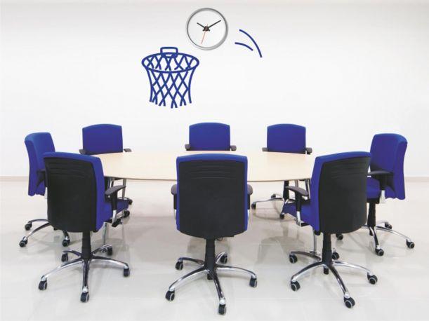Vinilo decorativo Reloj Basket de DEKOTIPO