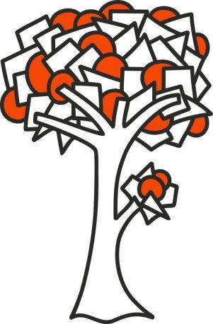 Vinilo decorativo Orange de DEKOTIPO