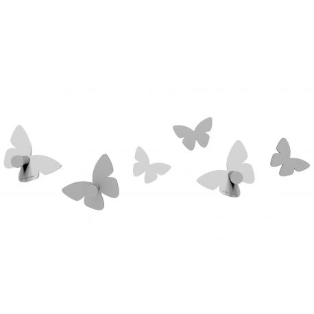 Millions of Butterflies White