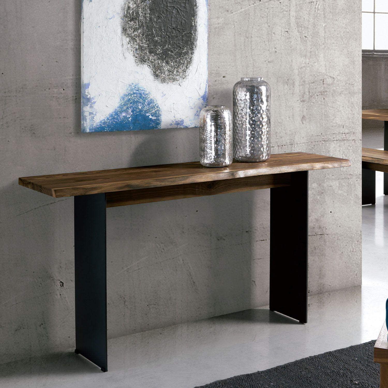Consola Dallas Moderna Y R Stica Ociohogar Com # Muebles Rusticos Con Toque Moderno