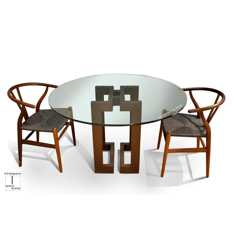 Mesas de diseo comedor awesome mesa de comedor extensible for Mesa circular extensible