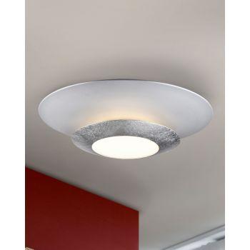 Plafón LED Hole Plata, un toque espacial en tu hogar