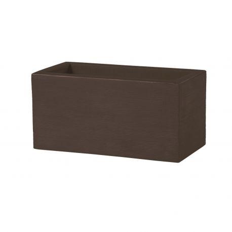 Jardinera Quadra SLIDE Design color chocolate brown
