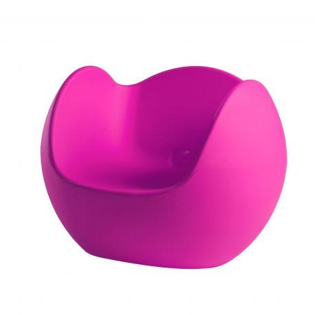 Sillón Blos SLIDE Design color Sweet Fuchsia