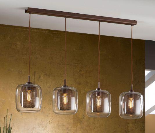 Fox, una lámpara con corazón de metal y cuerpo de cristal