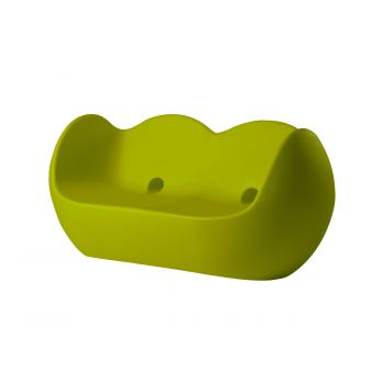 Sofá de jardín Blossy SLIDE Design verde lacado