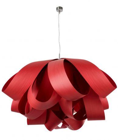 Lámpara Agatha SG Grande LZF CHW-26 Roja