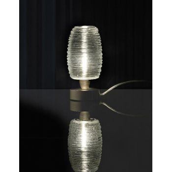 Lámpara de cristal Damasco mesa