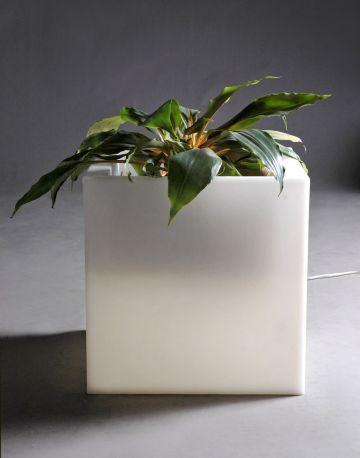 Maceta con luz  Q-Pot SLIDE Design