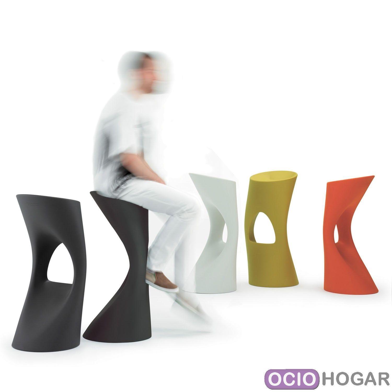 Taburete de cocina flod color mobles 114 for Taburetes de cocina modernos