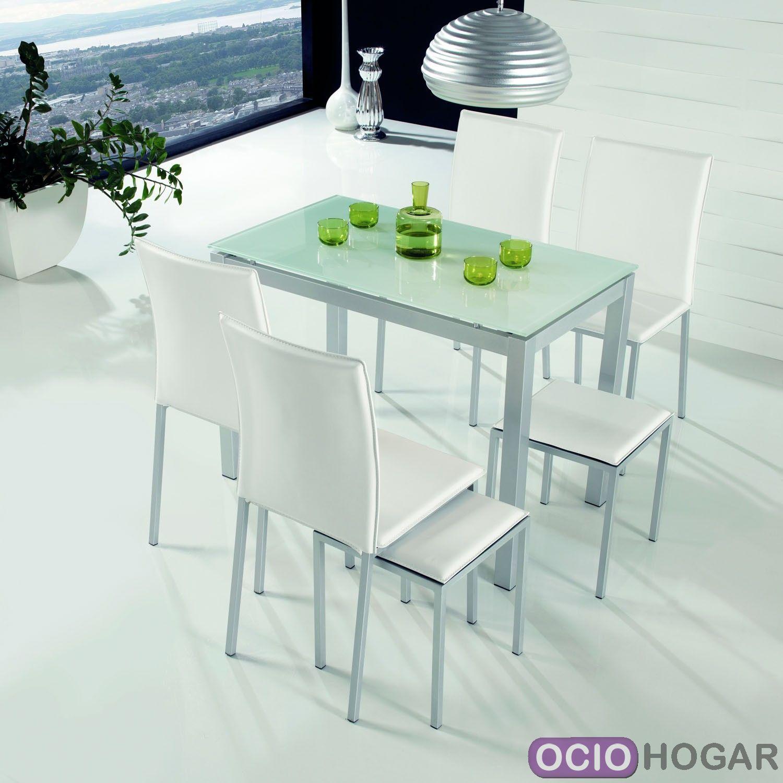 Mesa de cocina plano dissery for Sillas comedor ligeras