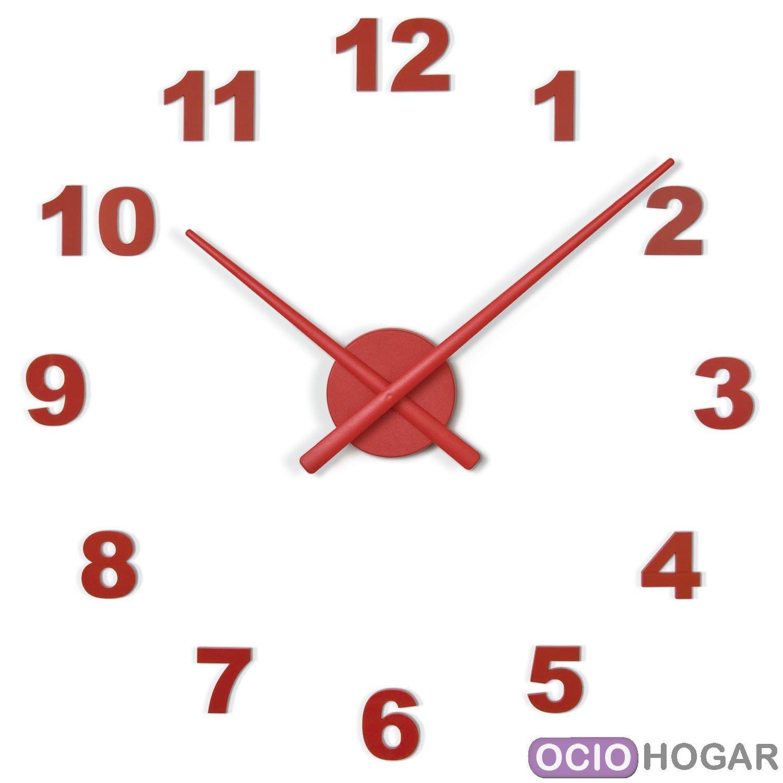 Reloj de pared oj n meros nomon compra online - Relojes grandes de pared vintage ...