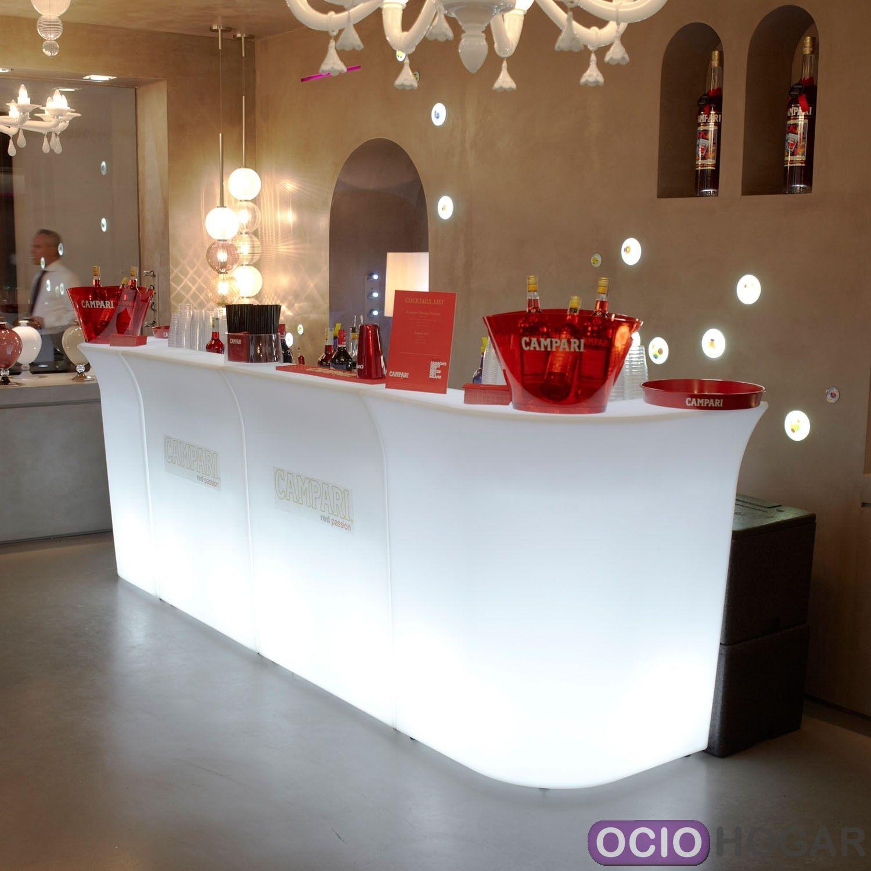 Barra de bar con luz jumbo slide design - Barras de bar para salon ...