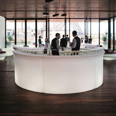 Barra de bar con luz Break Bar Slide Design