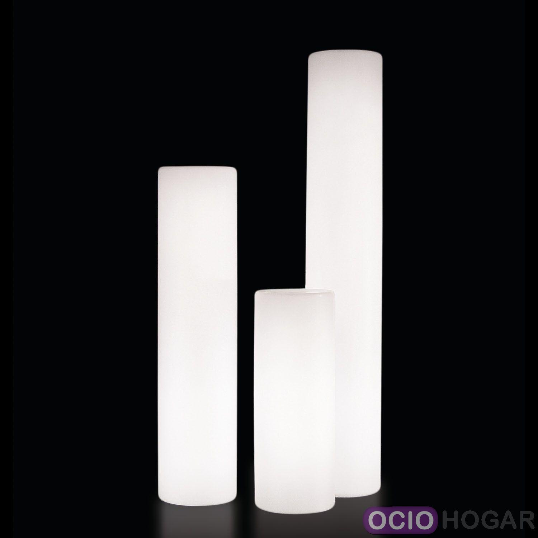 L mpara cilindro de exterior fluo slide design for Lamparas de exterior