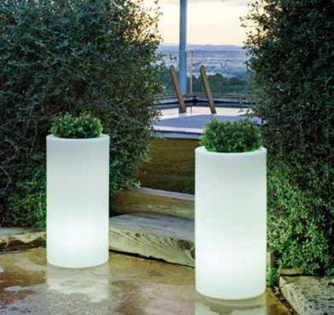 Maceta con luz palma light new garden - Macetas con luz baratas ...
