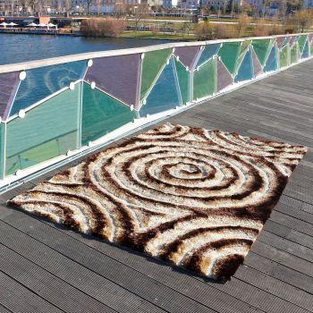 Alfombra moderna Spiral 3D