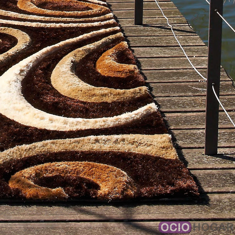 Alfombra moderna tsunami 3d carving compra online - Alfombras online modernas ...