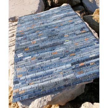Alfombra moderna Jeans Belt