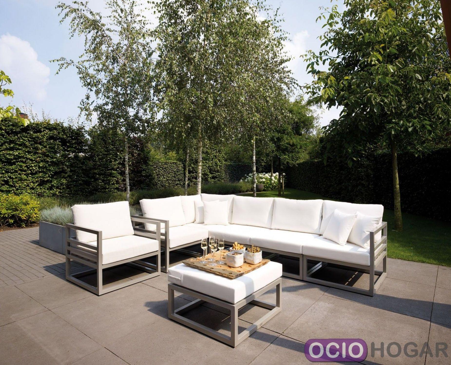 Sillones Para Exterior. Mesa Para Jardin Exterior. Muebles Rusticos ...