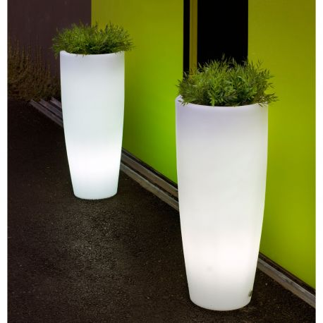 Maceta con luz Bambu Light New Garden