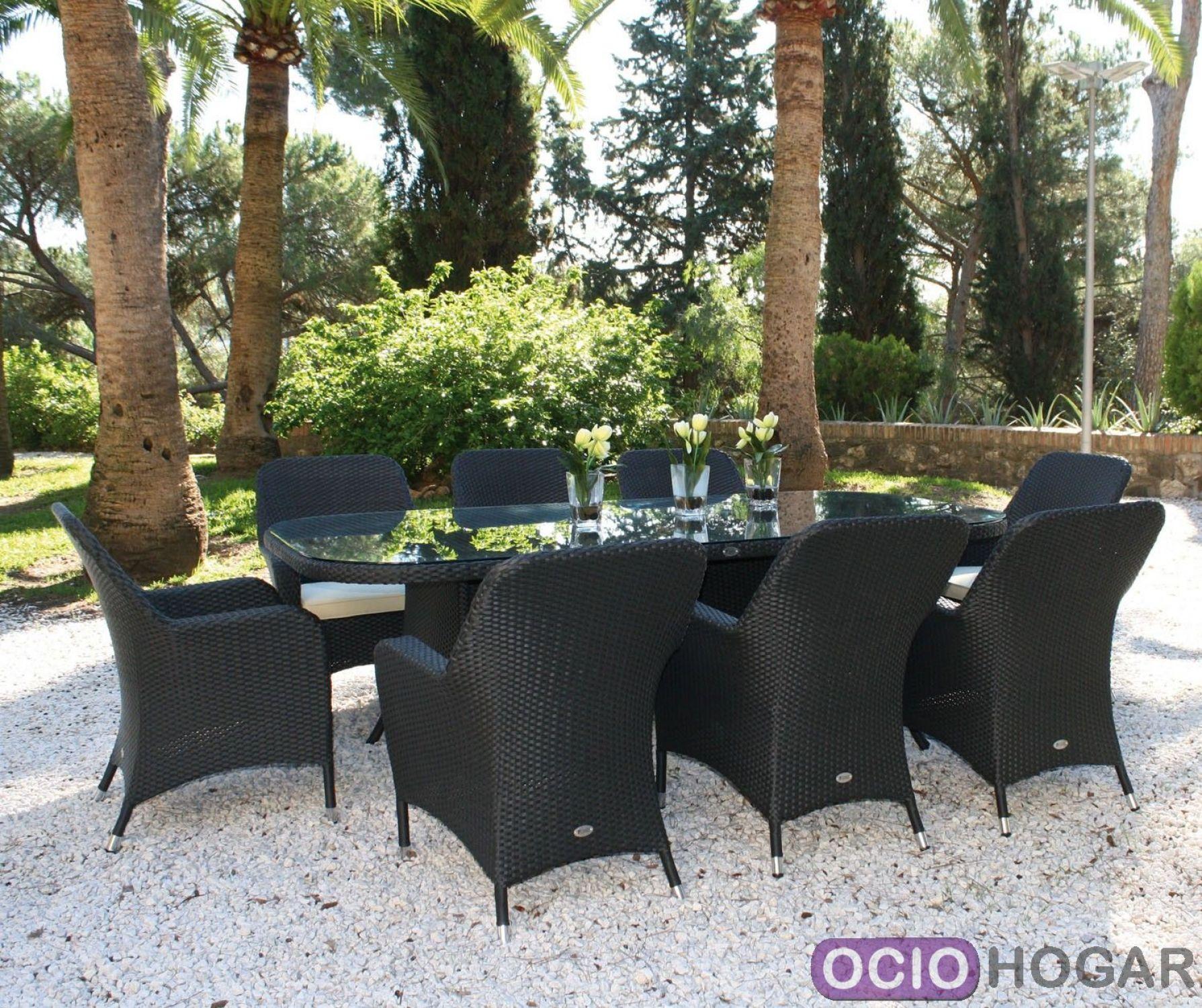 mesa y sillas de jardn ocean