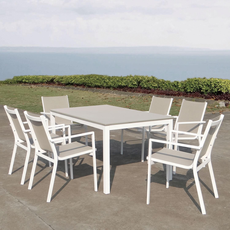 Mesa y sillas de exterior Rmini de Majestic Garden OcioHogarcom