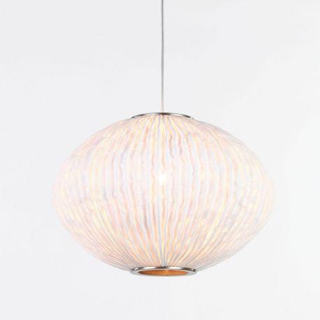 Lámpara de techo Coral Seaurchin COAU04 de Arturo Álvarez. Blanco. Tamaño normal