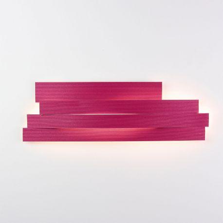 Aplique de pared Li LI06 de Arturo Álvarez. Granate. Pequeño