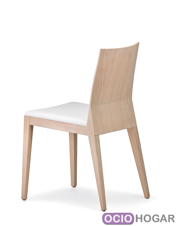 Silla de madera twig de pedrali sillas de comedor en for Sillas de madera comodas