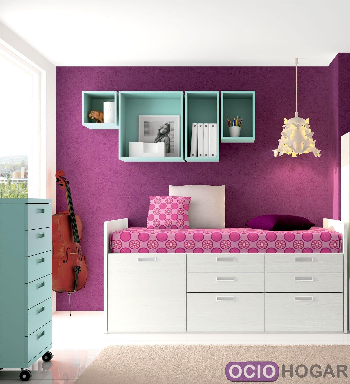 Dormitorio juvenil spacios de dissery muebles modernos - Dormitorio juvenil completo ...