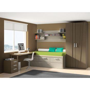 Dormitorio juvenil Delta