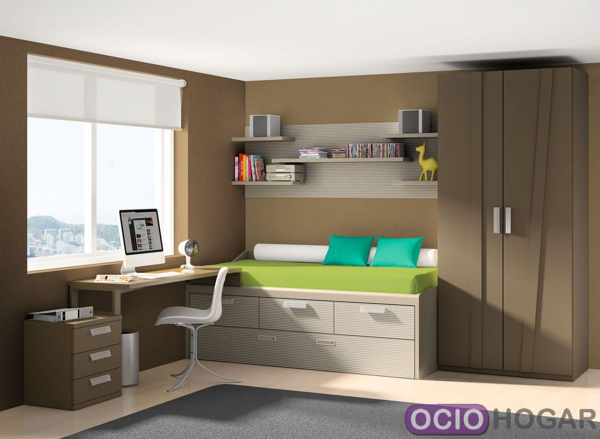 Dormitorio juvenil delta de dissery for Camas infantiles diseno moderno