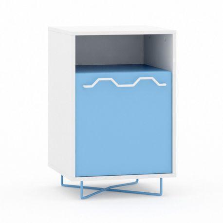Cómoda simple Motipo de Moti. 1 puerta y 1 hueco