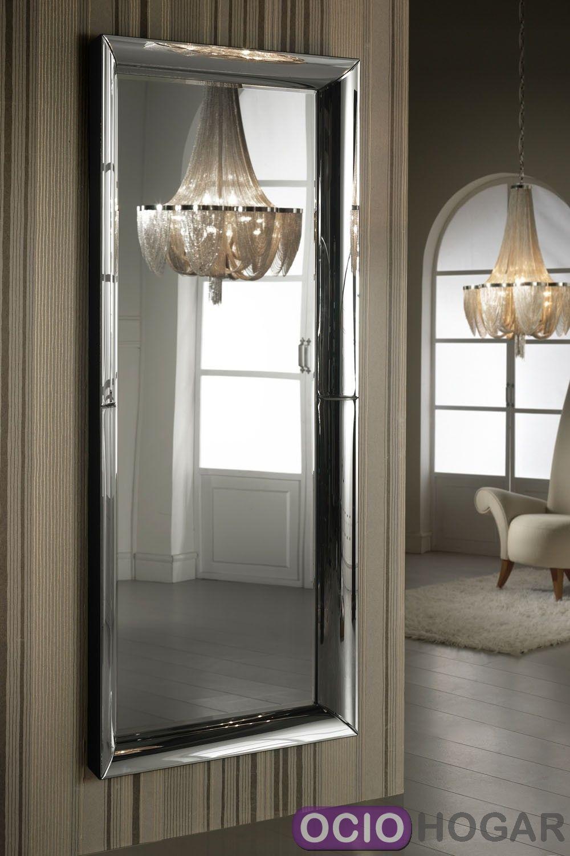 Espejo irina de schuller for Espejos de pared madera