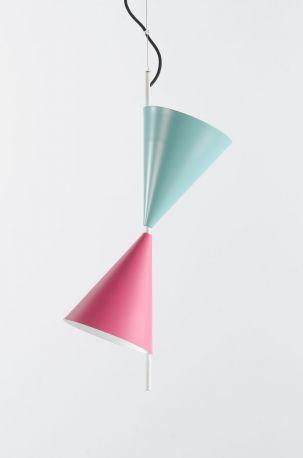Lámpara de techo Cone de Almerich. 2 tulipas